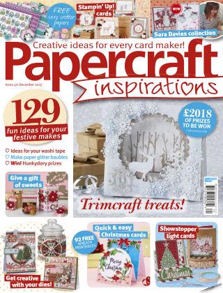 Papercraft Inspirations December 2017