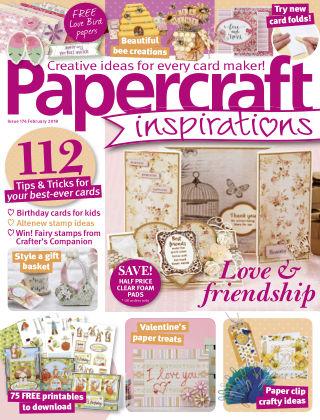 Papercraft Inspirations Feburary 2018