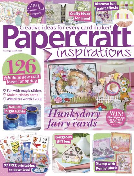 Papercraft Inspirations January 25, 2018 00:00