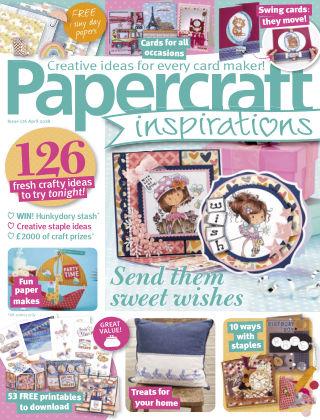 Papercraft Inspirations April 2018