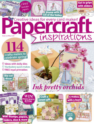 Papercraft Inspirations May 2018