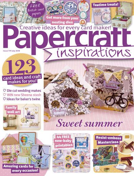 Papercraft Inspirations May 22, 2018 00:00