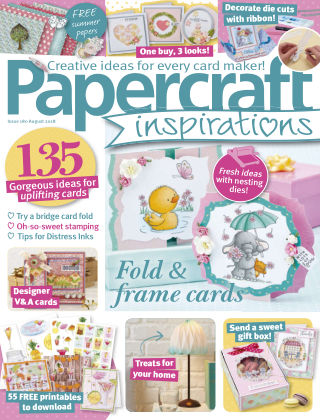 Papercraft Inspirations August 2018