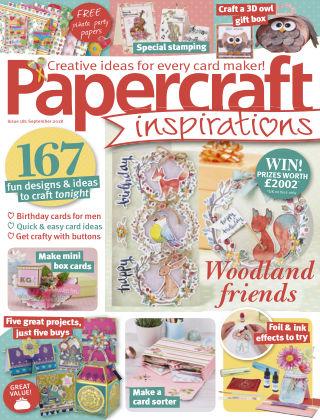 Papercraft Inspirations September 2018