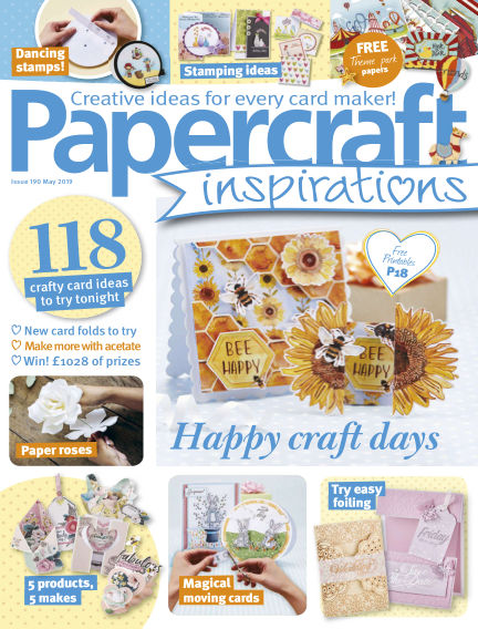 Papercraft Inspirations March 22, 2019 00:00