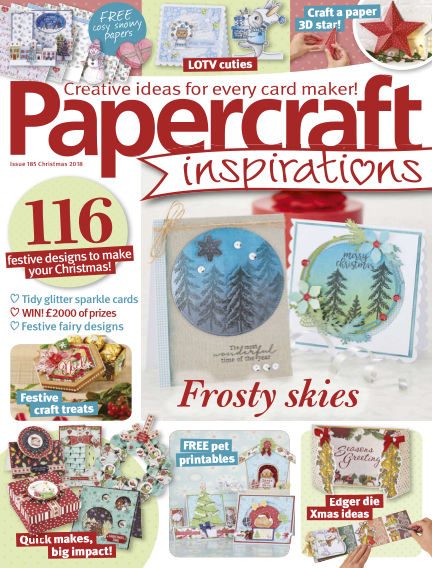 Papercraft Inspirations November 07, 2018 00:00