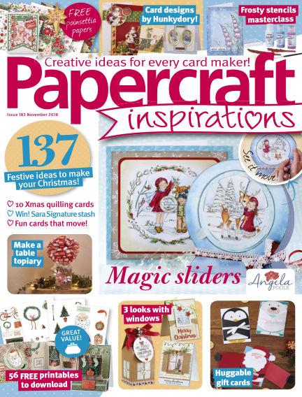 Papercraft Inspirations September 12, 2018 00:00