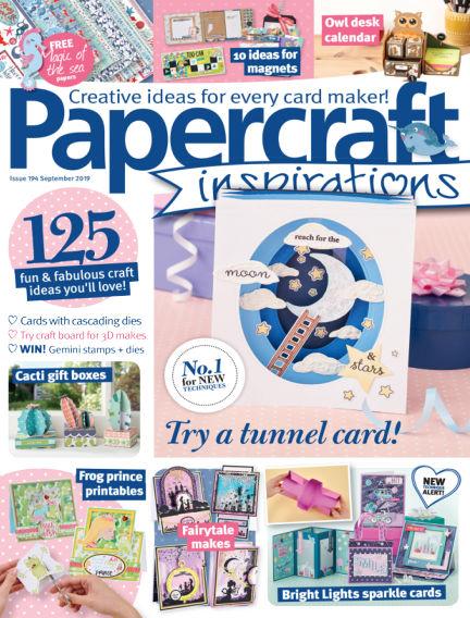 Papercraft Inspirations July 12, 2019 00:00