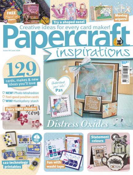 Papercraft Inspirations April 19, 2019 00:00