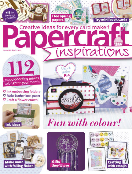 Papercraft Inspirations February 22, 2019 00:00