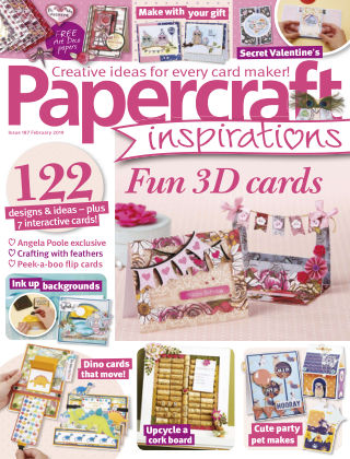 Papercraft Inspirations February2019