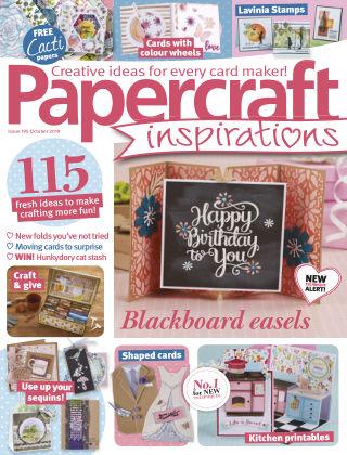 Papercraft Inspirations October2019