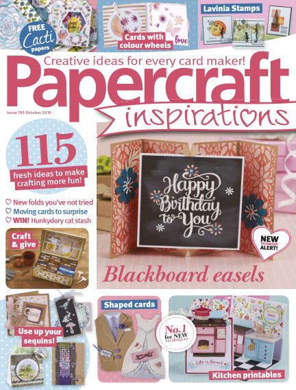 Papercraft Inspirations August 09, 2019 00:00
