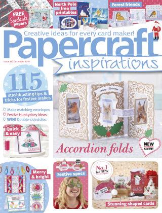 Papercraft Inspirations December2019