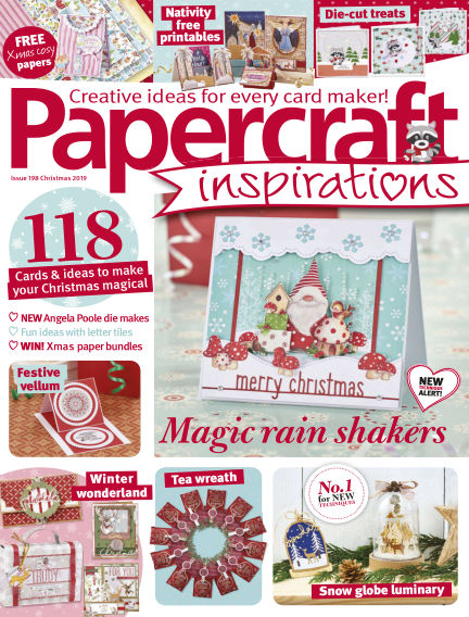 Papercraft Inspirations November 01, 2019 00:00
