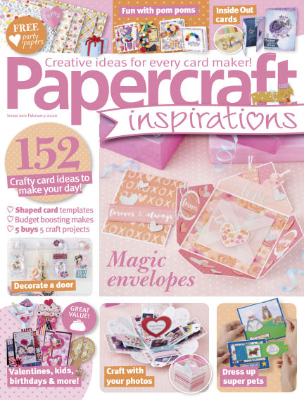Papercraft Inspirations December 24, 2019 00:00