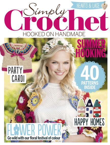 Simply Crochet May 28, 2015 00:00
