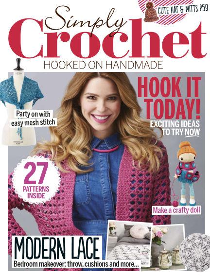 Simply Crochet December 09, 2015 00:00