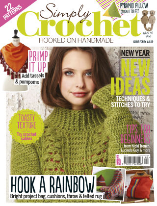 Simply Crochet Issue 40