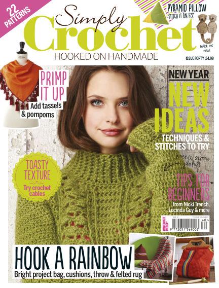 Simply Crochet January 07, 2016 00:00