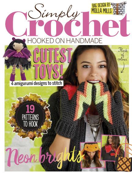 Simply Crochet September 15, 2016 00:00