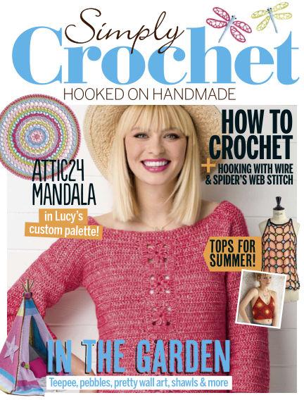 Simply Crochet July 20, 2017 00:00