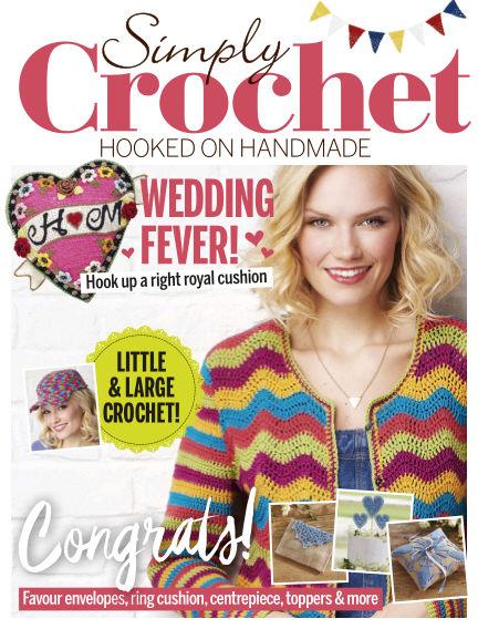 Simply Crochet April 19, 2018 00:00