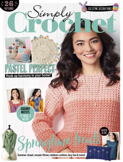 Simply Crochet March 14, 2019 00:00