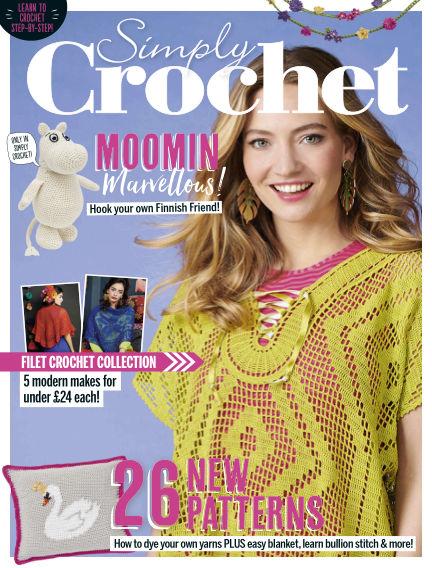 Simply Crochet April 11, 2019 00:00
