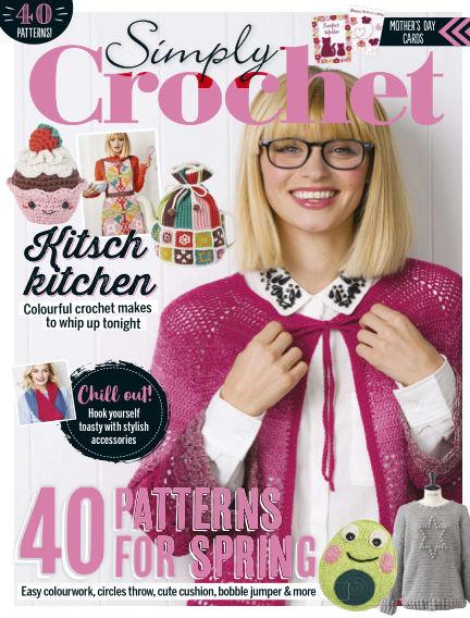 Simply Crochet February 14, 2019 00:00