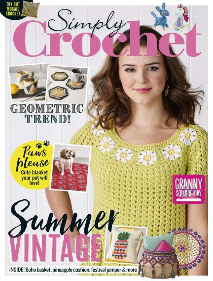 Simply Crochet July 04, 2019 00:00