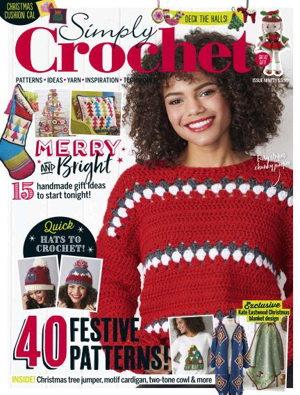 Simply Crochet October 24, 2019 00:00