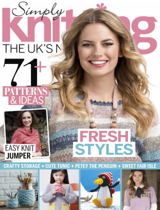 Simply Knitting February 2015