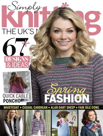 Simply Knitting February 27, 2015 00:00