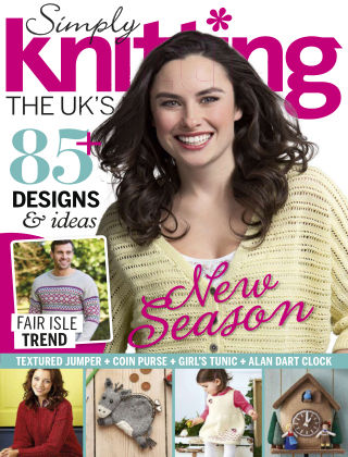 Simply Knitting April 2015
