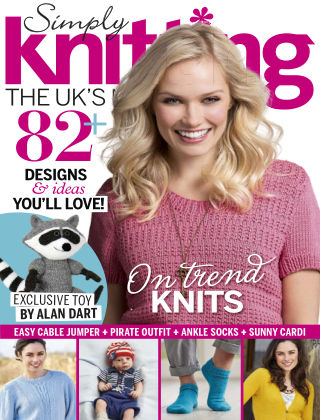 Simply Knitting May 2015