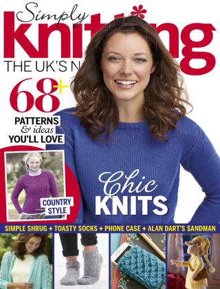 Simply Knitting Sep 2015