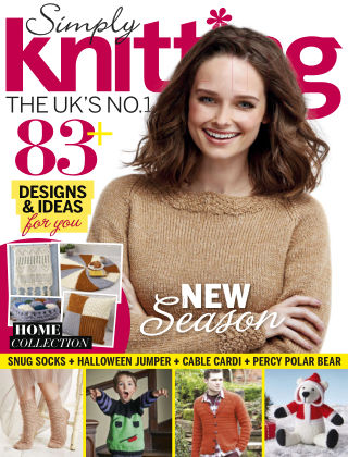Simply Knitting Oct 2015