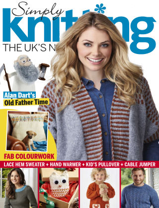Simply Knitting Jan 2016