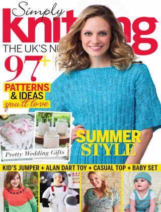 Simply Knitting Jul 2016