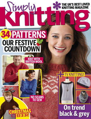 Simply Knitting Xmas 2016