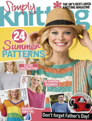 Simply Knitting July 2017