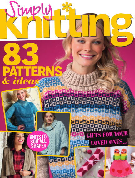 Simply Knitting January 25, 2018 00:00