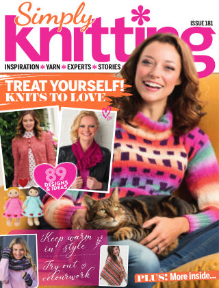 Simply Knitting February2019