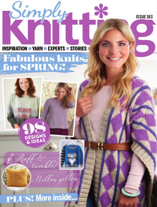 Simply Knitting April2019