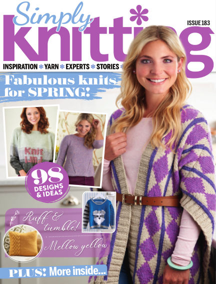 Simply Knitting February 21, 2019 00:00