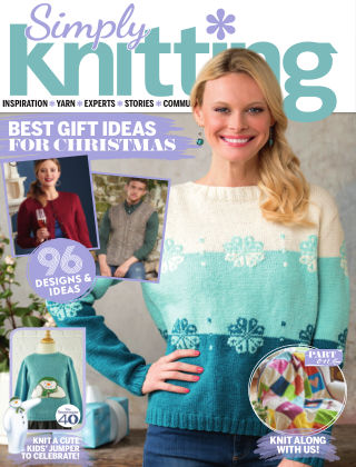Simply Knitting December2018