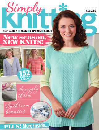 Simply Knitting Issue189