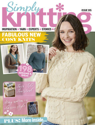Simply Knitting Issue195
