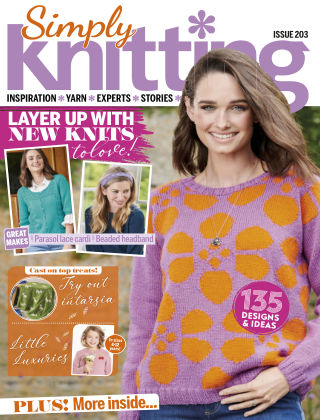 Simply Knitting Issue203